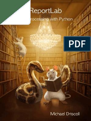 Reportlab PDF Processing Python   Python (Lenguaje de