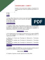 Cuestionario Del Cobit 5
