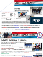 short-track luxembourg - newsletters 1 to 14 - 2016-2017