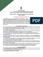 Edital Guarda Prisional Sergipe Atualizado Conf Retifica Es 01 e 02