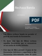 Filtro Rechaza Banda Electronica II