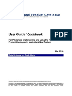 GS1au User Guide National Product Catalogue Code Lists May 2018