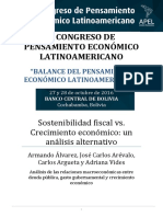 Sostenibilidad Fiscal y Crecimiento Economico- Paper Nicaragua
