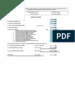 MECAL. Parametros de Diseño - Caudales