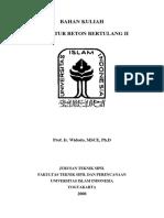 108905336 Modul Struktur Beton Bertulang II Prof Ir Widodo MSCE Ph D P(1)