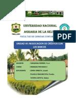 Unidad VII Negociacion de Creditos Con Los Bancos (1)