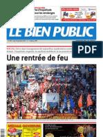 Le Bien Public 6 Septembre 2010