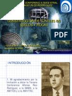 Conferencia Construccion de Tuneles en Suelos y Rocas Por An