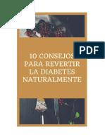 10 Consejos Para Revertir La Diabetes Naturalmente
