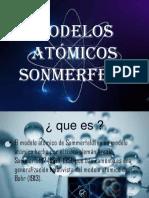 Modelos atómicos sonmerfeld