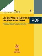 Volumen 1 Desafios Del Derecho Internacional Penal