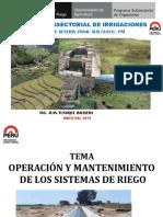 Operacion y Mantenimiento 2015