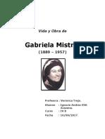 Biografia Gabriela Mistral Final