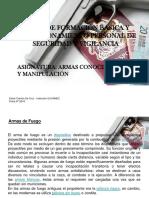 C.F.B y P. SUCAMEC Armas Conocimiento Y Manipulación 2015-2017