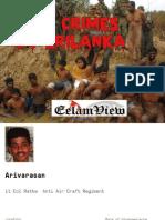 ltte disappearance white flag killings srilanka