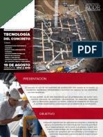 Tecnologia Del Concreto- Ing. Rafael Cachay Huaman - Inicio 19 de Agosto 2017 - Tres Semanas0001