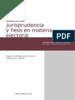 Gaceta Jurisprudencia 2-3-2009
