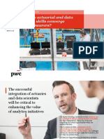 Pwc Life Actuaries Data Scientists Role