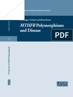 Mthfr Polymorphisms and Disease