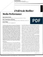 Evaluation of Full-scale Biofilter Media