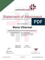 Villarreal Maria PFA Incl CPR 3699022