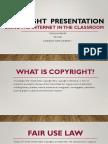 carolina parker copyright in education
