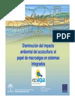 Disminución Del Impacto Ambiental Del Acuicultura El Papel de Macroalgas en Sistemas Integrados