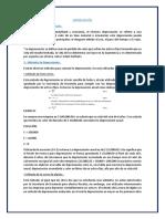 Control de Lectura Finanzas 1 Depreciacion 2018