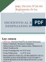 Ley Bono Incentivo Al Retiro