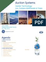 USB - John Dobby - Subsea Trees & Wellheads MAY 2014(2)