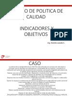 7. CASO Indicadores de Calidad