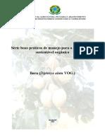 Boas Praticas de Manejo Para o Extrativismo Sustentavel Organico Do Baru