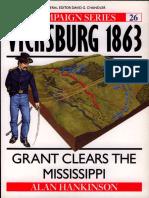 Vicksburg 1863_ Grant Clears Th - Alan Hankinson