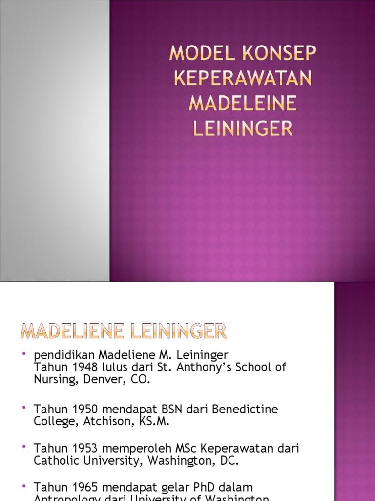 leininger model