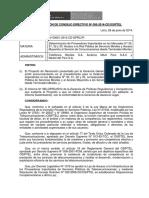 L 9 Res085-2014-CD Determinación de Proveedores Importantes Mercados 31, 32 y 33
