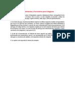 Procedimientos y Formularios Para Colegiarse