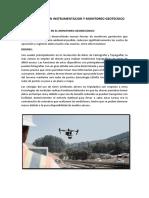 Innovaciones en Instrumentacion y Monitoreo Geotecnico