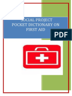 Social Project on First Aid