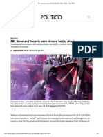 Exhibit 6 - FBI, Homeland Security Warn of More 'Antifa' Attacks - POLITICO
