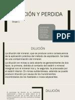Dilución_Perdidas