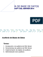 Auditoria de Bases de Datos