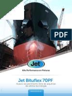 Cartilla Jet Bituflex 70 PF