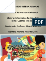 Trabajo Informatica Diapositiva