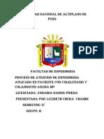 PROCESO DE ATENCION DE ENFERMERIA  APLICADO AL PACIENTE                    CON COLELITIASIS.docx