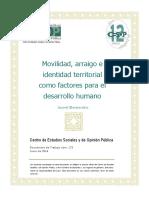 Movilidad Arraigo Identidad Territorial Docto173