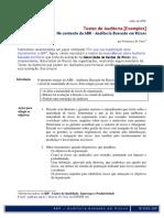 Testes de Auditoria [Exemplos] - No contexto da Auditoria Baseada em Riscos