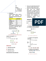 Operaciones Matemáticas 4to