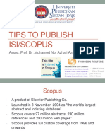Tips to Publish Scopus_isi Journal