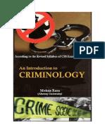 Criminology Notes