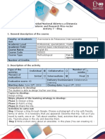 Activity Guide and Evaluation Rubric - Activity 7 - Creating a Blog